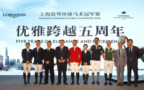 """Dignitaries and riders hail """"great"""" Shanghai Longines Global Champions Tour"""