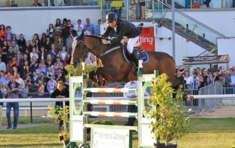 RED MILLS Riders on fire at Spruce Meadows
