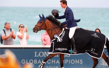 Philippaerts Storms to Win in Spectacular Second Day of LGCT Miami Beach